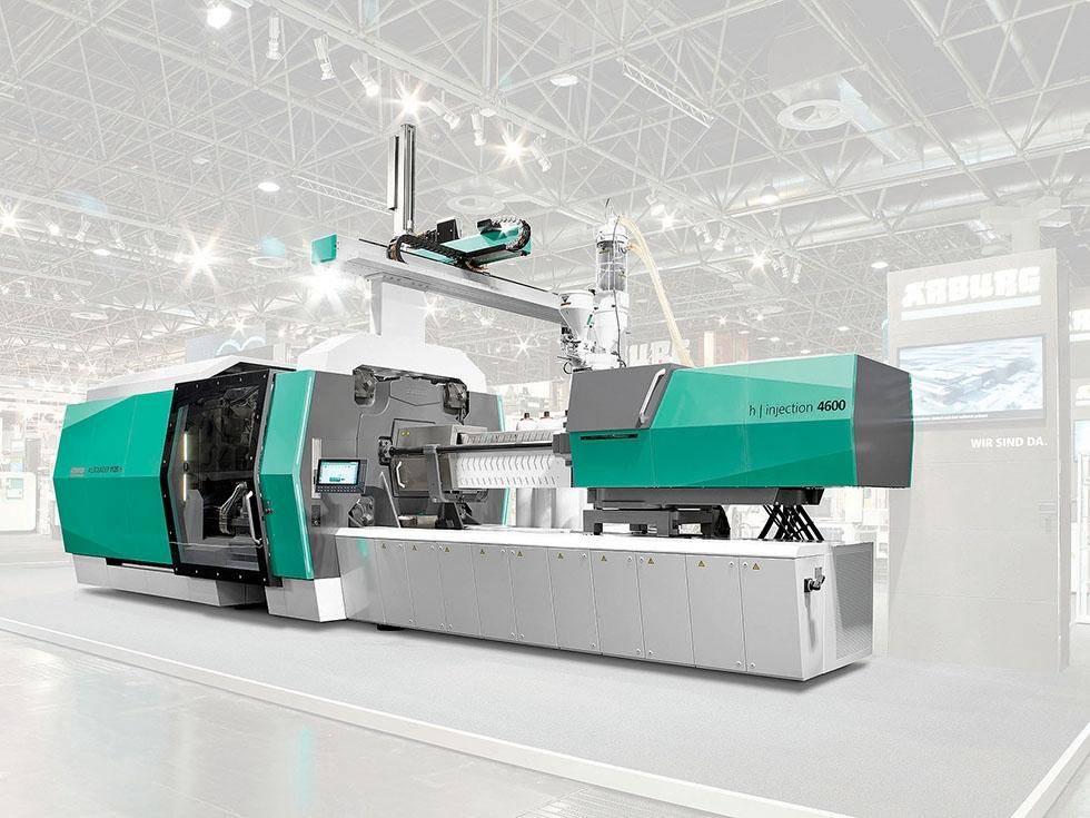 New-Products:-Arburg-730-ton-Allrounder-makes-big-American-debut