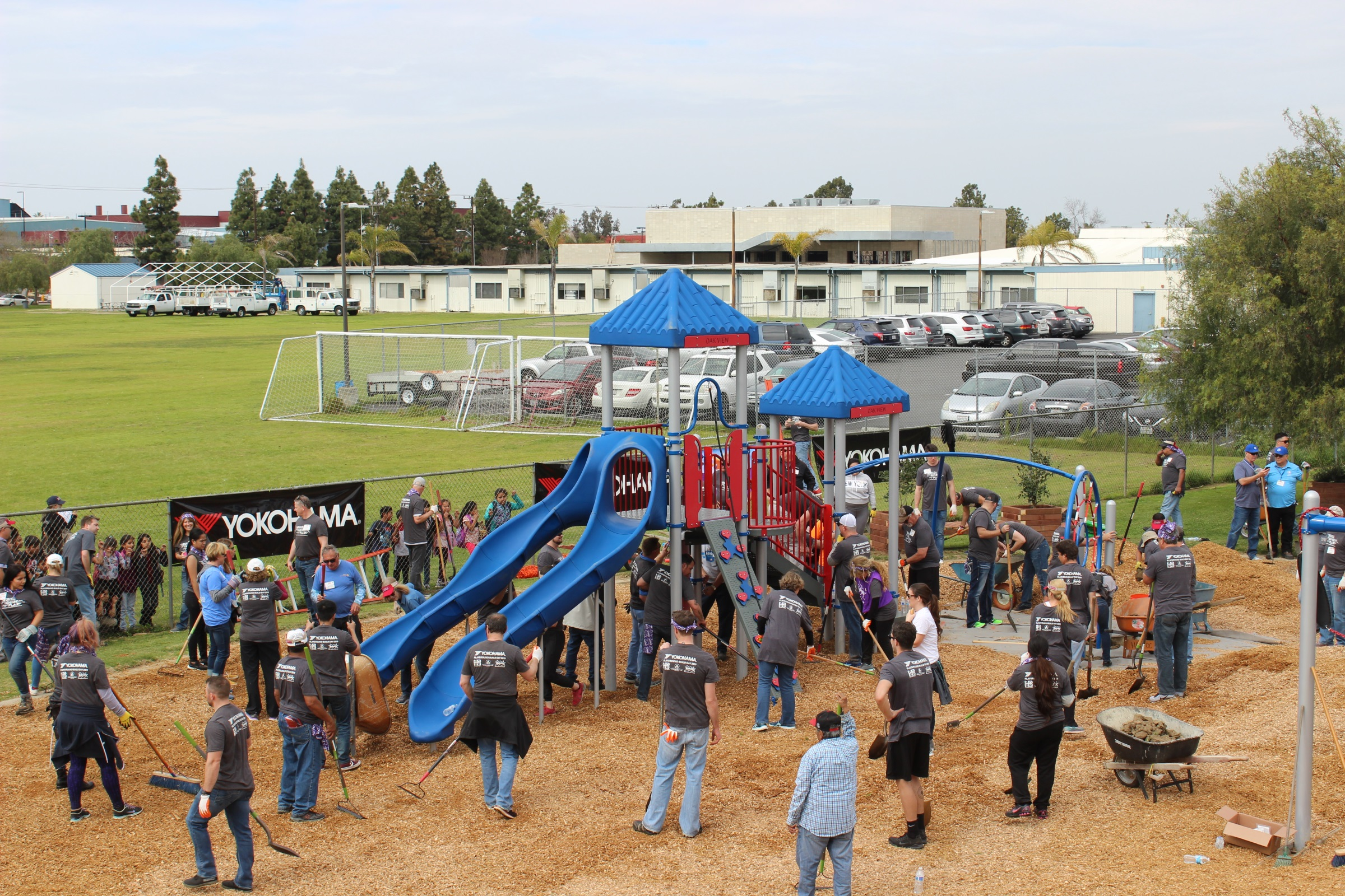 KaBOOM Playground Build Day at Southwest Key | Volunteers