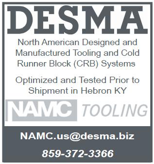 DESMA NAMC TOOLING