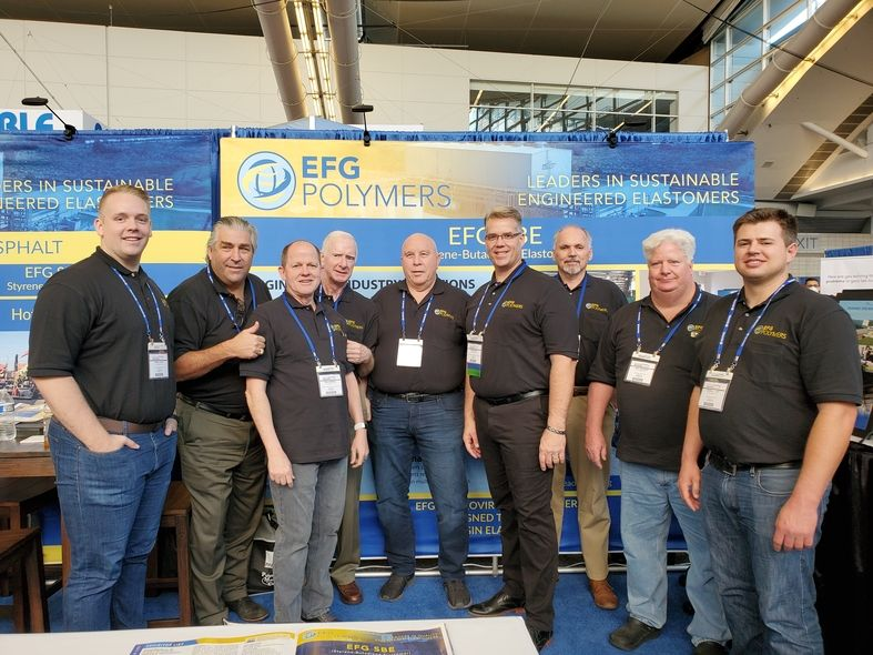 EFG Polymers Team at 2021 International Elastomer Conference