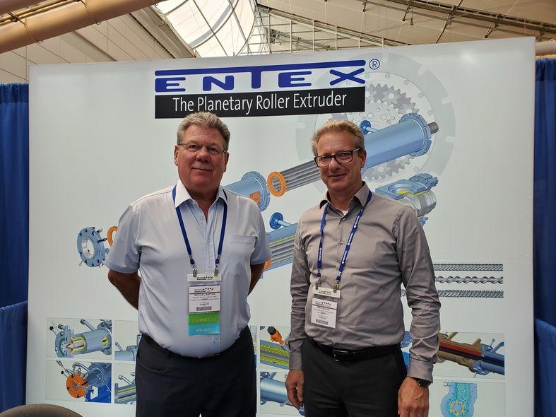 EnTexRust & Mitschke 2021 IEC booth