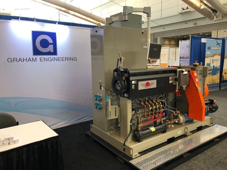 Graham Engineering Corp. at the 2021 IEC in Pittsburgh