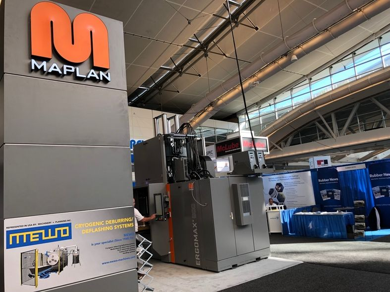 Maplan Machinery and Planning Inc. at the 2021 IEC in Pittsburgh