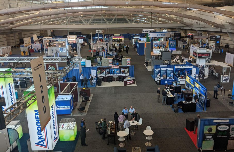 2021 International Elastomer Conference expo at David L. Lawrence Convention Center