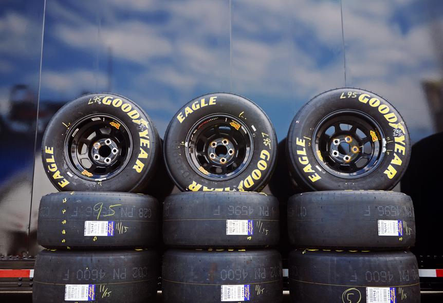 Used Tires Akron Ohio >> Photos Goodyear Tires Drive Nascar Tradition