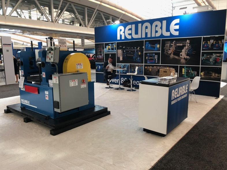 Reliable Rubber and Plastic Machinery at the IEC in Pittsburgh