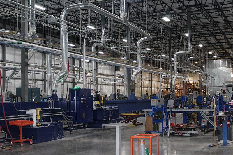 Photos: Trelleborg Sealing opens manufacturing, warehouse