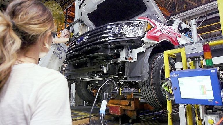 Online Exclusive: Microchip shortage put brakes on Ford's progress