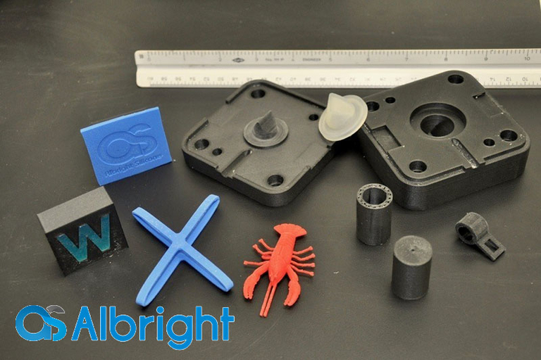 Albright Silicone launches rapid 3D LSR printing