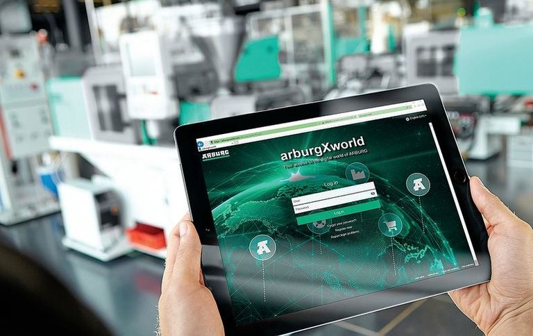 Arburg adds apps to customer portal, digital feature to popular press