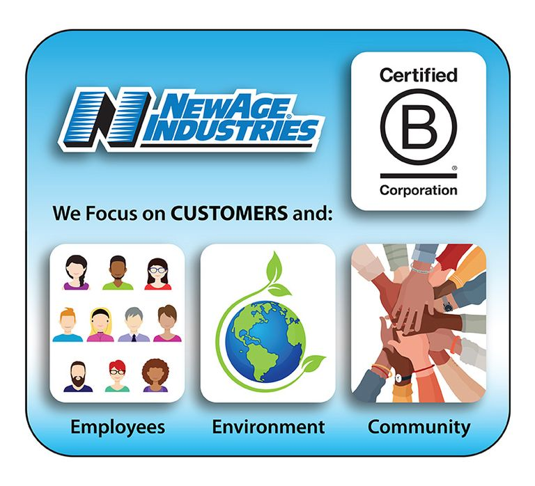 NewAge Industries achieves B Corp certification