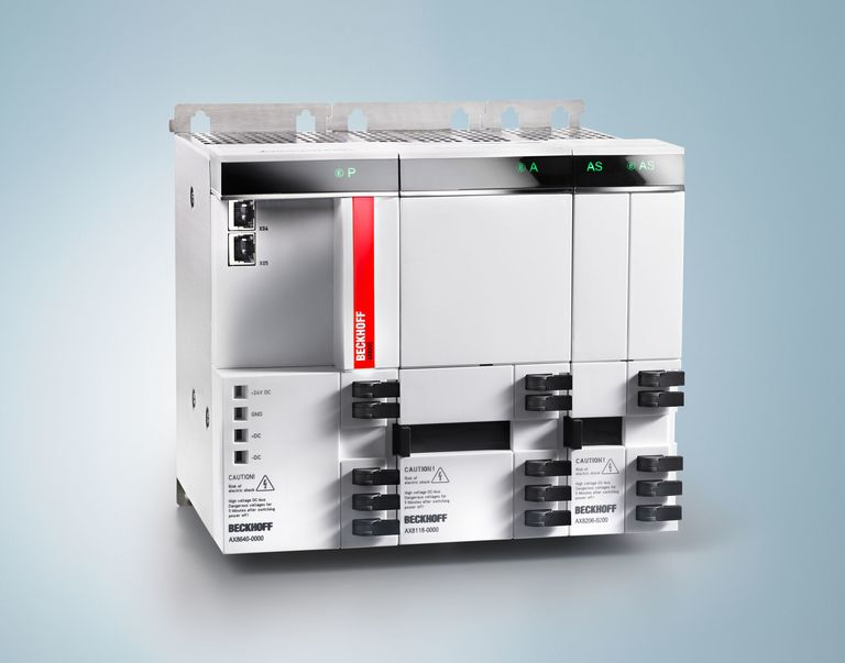 New products: Beckhoff enhances AX8000 multi-axis Servo System with oversampling technology