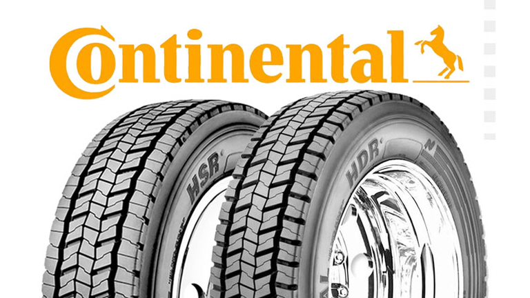 Continental rolls out two on-, off-road truck tires