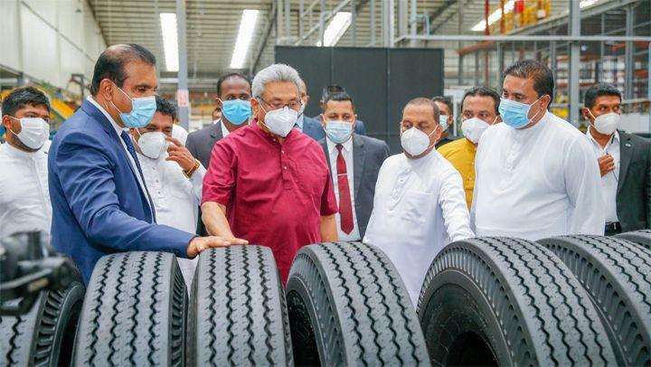Ferentino Tyre opens Sri Lanka plant; eyes exports to U.S., Europe