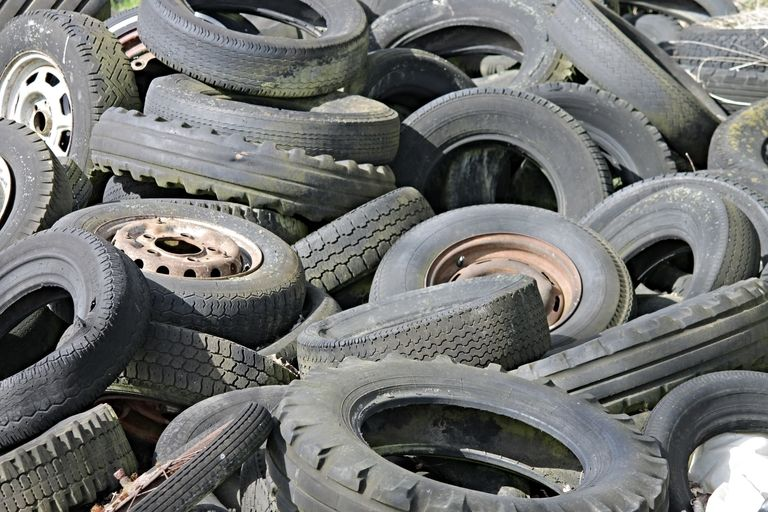 Scrap tire recycling hits bumpy road, new report finds