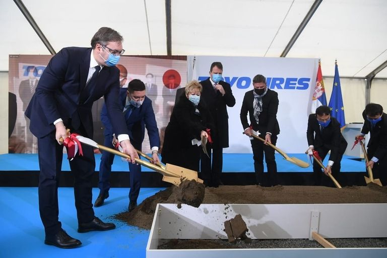 Toyo breaks ground on Serbian tire plant