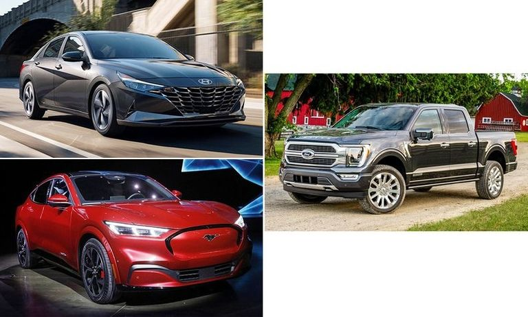 Ford, Hyundai earn 2021 top North American vehicle honors