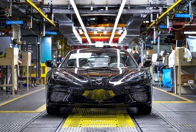 Parts shortage causes GM to halt Corvette production for a week