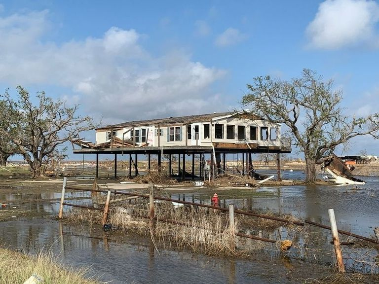 Power outages from Hurricane Delta hit same region impacted by Laura