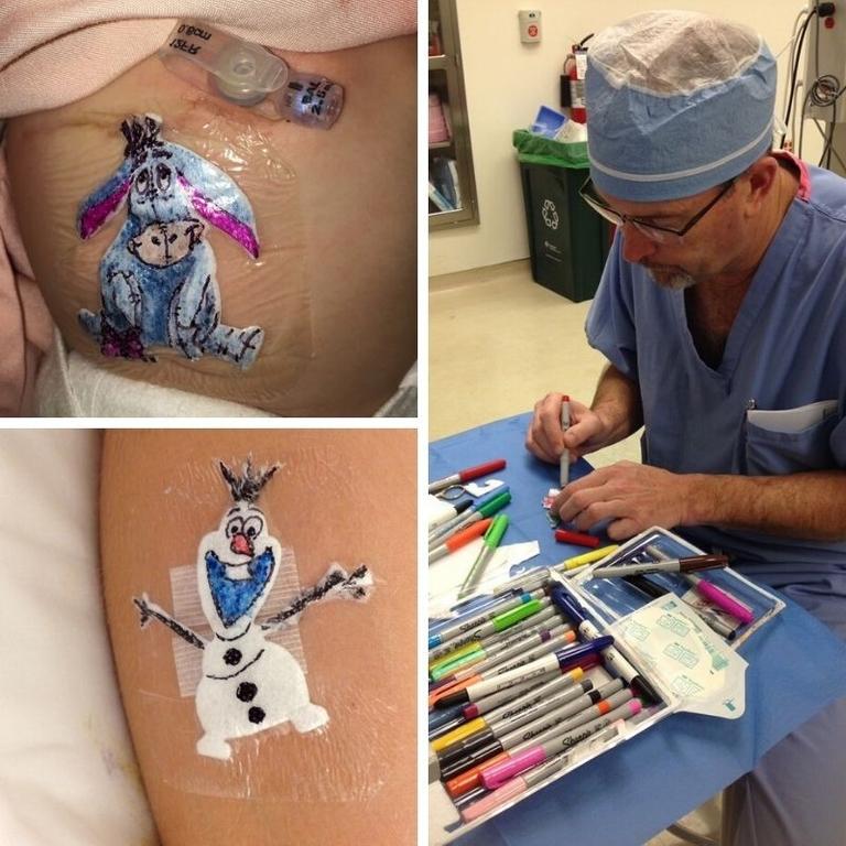 Wacky World of Rubber: Adhesive bandage art heals hearts, eases fears