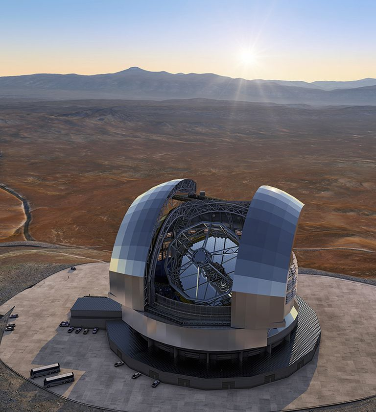 Trelleborg looking up with seals for 'Extremely Large Telescope'
