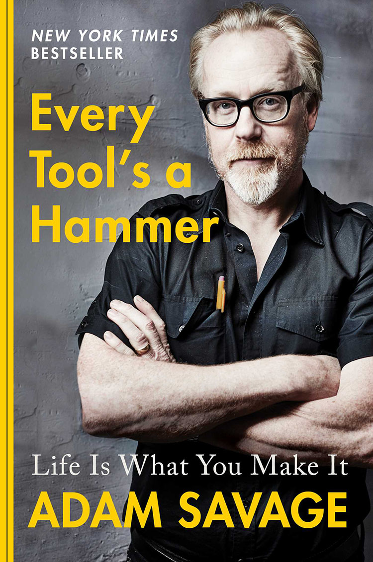 Adam Savage's book, rubber duck army capture joy of making