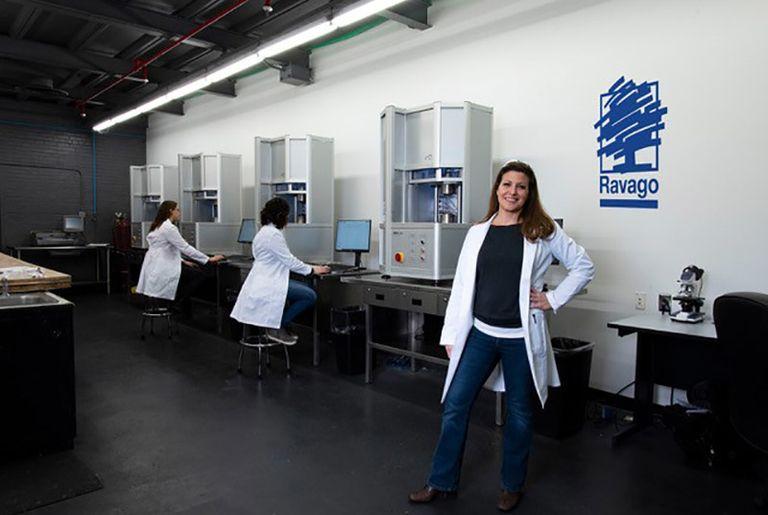 Goldsmith & Eggleton completing renovation of polymer lab