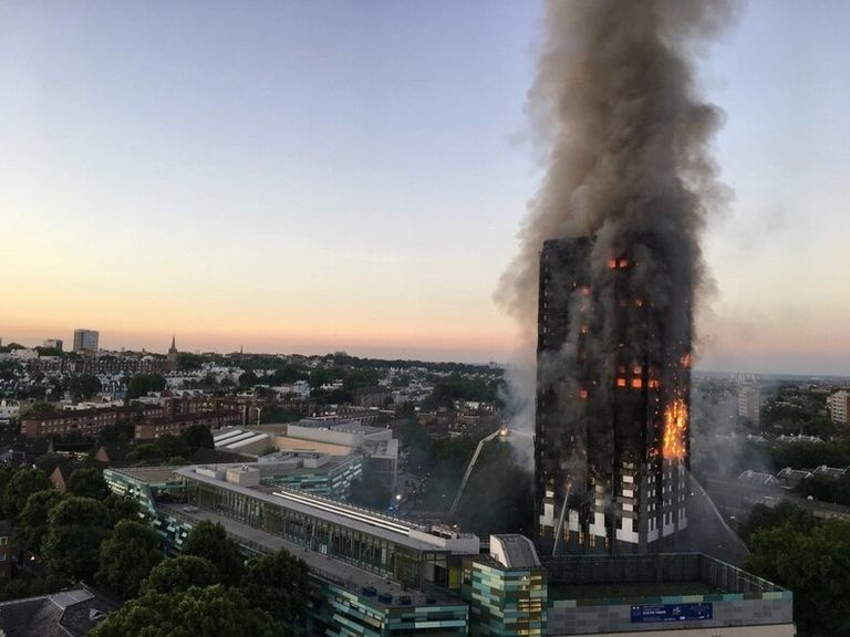 Judge tosses product liability suit over deadly London tower fire