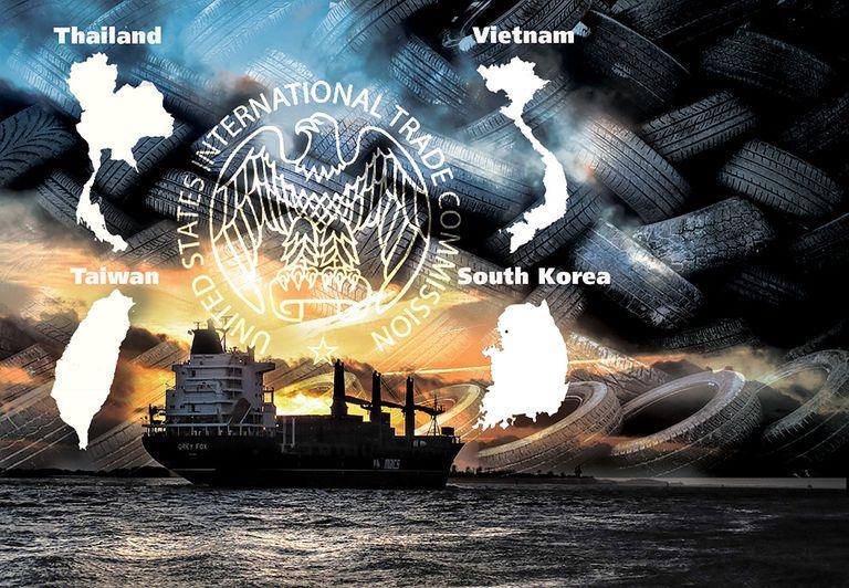 Commerce OKs antidumping duties on tires from S. Korea, Taiwan, Thailand, Vietnam