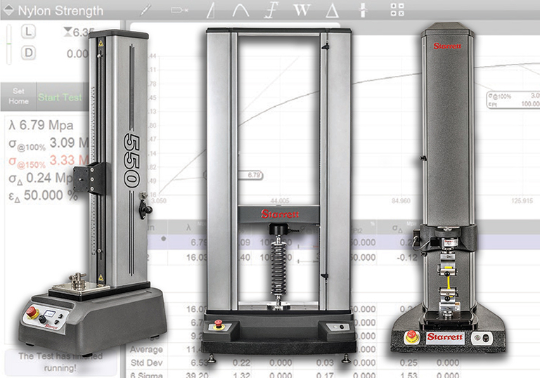 New products: Starrett offers versatile new force testing system