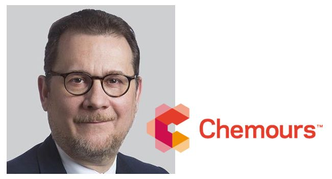 Chemours taps Mark Newman as CEO