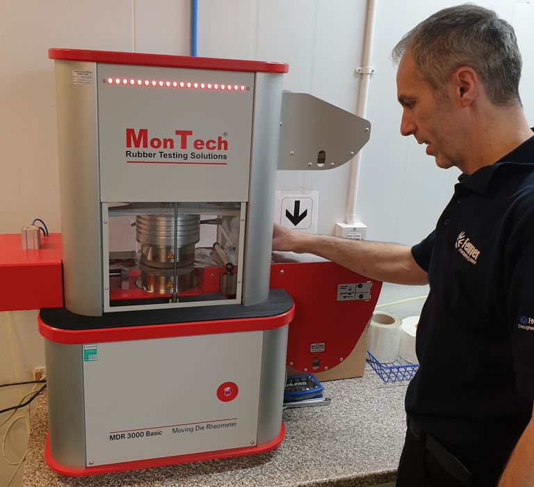 Fenner upgrades with new MonTech rubber testing machine