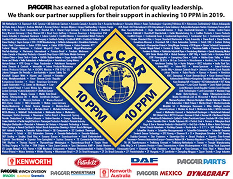 PACCAR awards Dayco for production at Italian plant