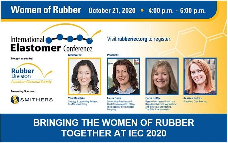 Rubber Division planning second Women of Rubber event