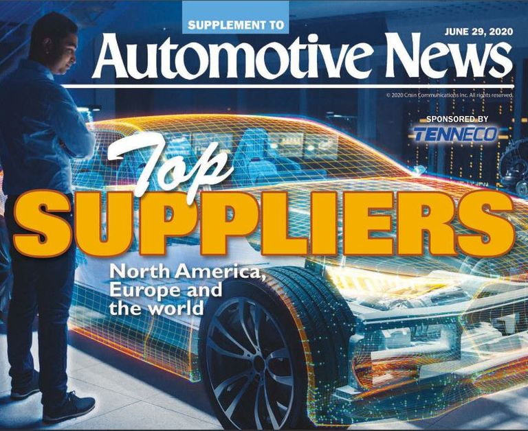 Auto suppliers ranking holds steady despite pandemic, challenges
