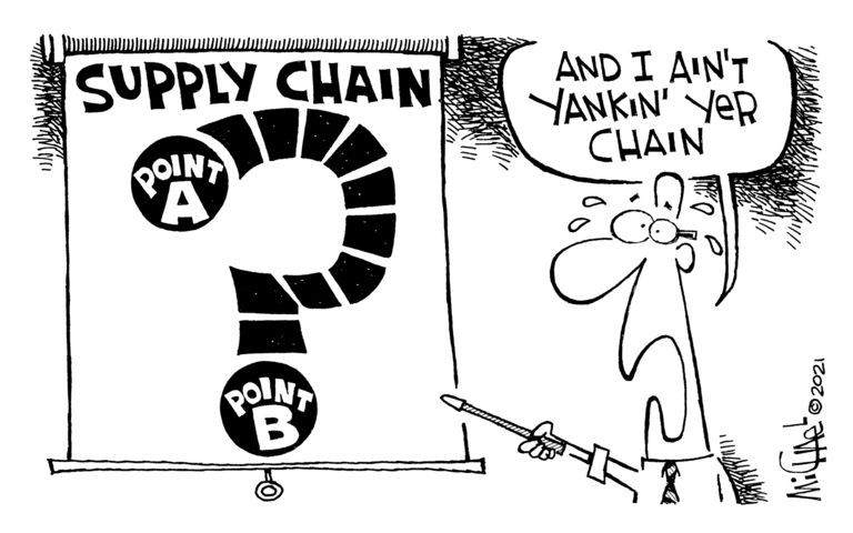 Our view: It may be time to rethink, rebuild supply chains