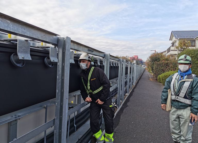 Conti supplies belting system for flooding mitigation project in Tokyo
