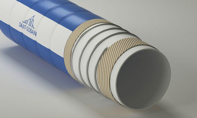 Saint-Gobain hose line is flexible, food-safe