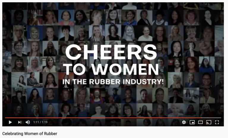 New video celebrates women in rubber industry