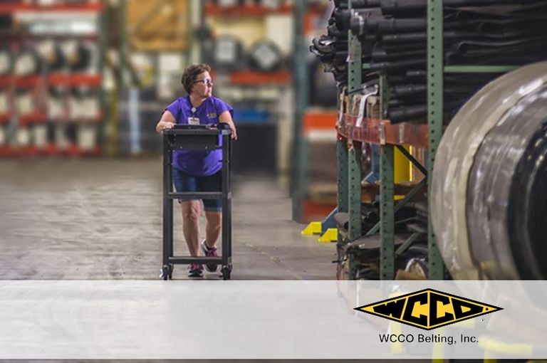 WCCO Belting earns manufacturing accolades