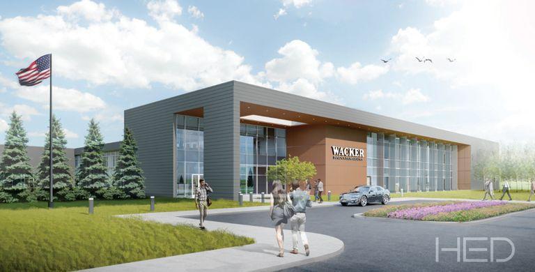 Wacker to spend $51M on new regional HQ