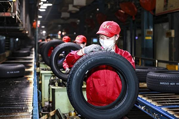 China's tire exports record two-digit dips in first quarter