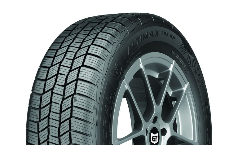 General Altimax all-weather tire now available to consumers