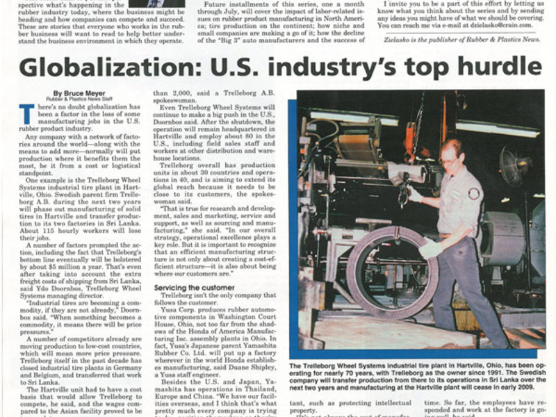 THEN-AND-NOW:-Globalization:-U S -industry's-top-hurdle
