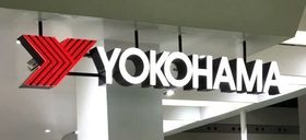 Yokohama tire sign