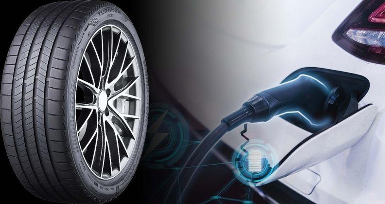 Bridgestone electric vehicle tires in Europe