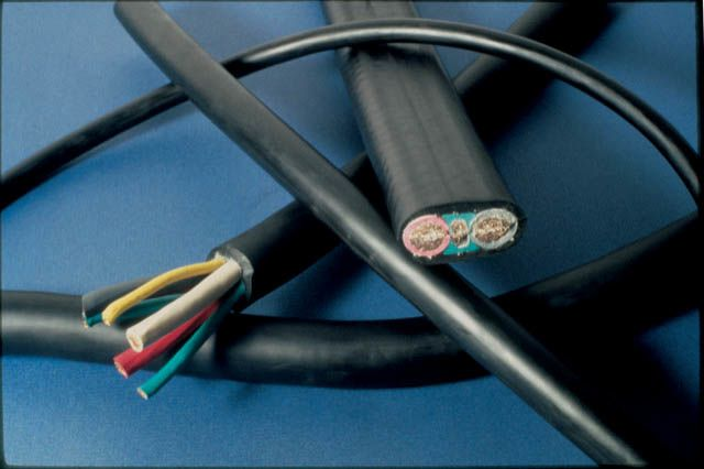 Compounding considerations for elastomeric wire and cable