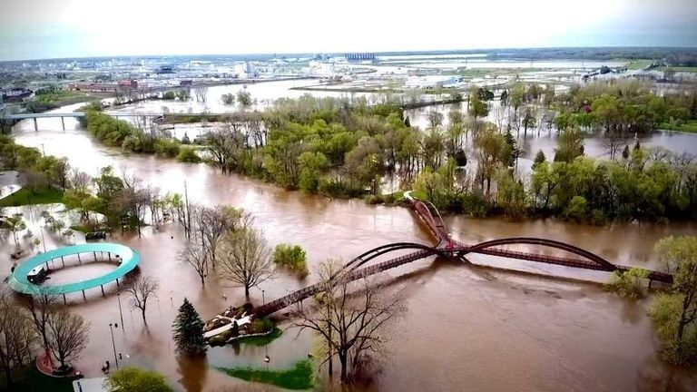 Dow activates emergency operations at Michigan site as flood waters rise (updated)